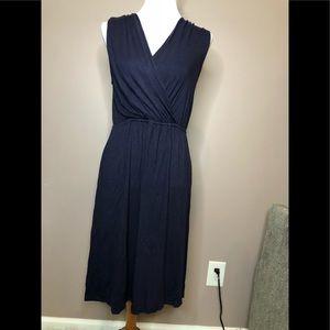 Merona navy blue stretchy dress